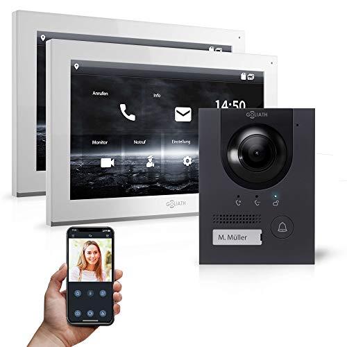 Goliath Hybrid | IP | Full-HD Video Türsprechanlage | App | 1-Fam | 2 x Full-Touchscreen 25,4 cm (10