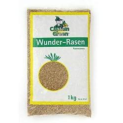"""Captain Green Rasensamen """"Wunder-Rasen"""", schnellkeimend 1 Kg"""