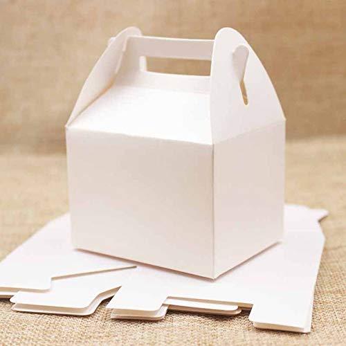 Geschenkbox LKU 20 leere süße Geschenkboxen.Mehrfarbige Süßigkeiten/Lieblingsgeschenk-Vitrine.Kraftpapier/pink/lila /, Farbe wie Bild