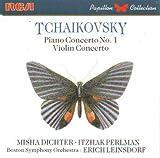 Violin Concerto / Piano Concerto 1 by Tchaikovsky, Perlman, Dichter, Leinsdorf, Bso (1989-06-05)