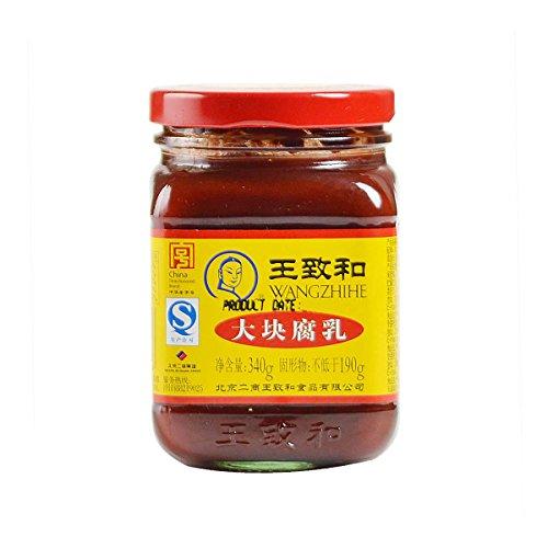 王致和発酵腐乳(赤)340g 豆腐乳 中華食材調味料・中華料理人気商品・中国名物