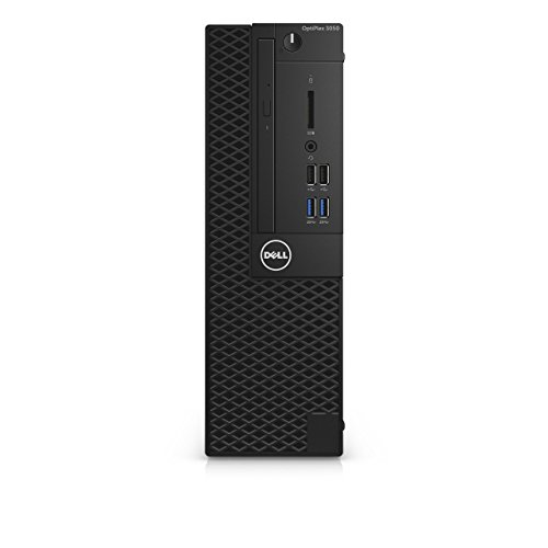 Dell OptiPlex 3050 Mini Tower Desktop PC - (Black) (Intel i5 7500 3.8 GHz, 8 GB RAM, 128 GB SSD, Intel HD Graphics 630, Windows 10 Pro) (Renewed)