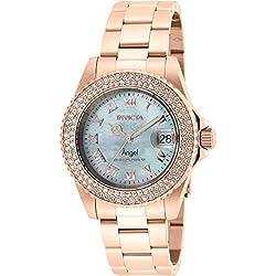 Rose Gold Angel Cruiseline Swiss Quartz Watch