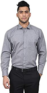 The Mods Men's Formal Grey Color Shirt