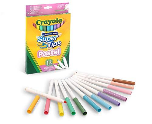Crayola Bright Supertips Pastel Edition Lot de 12