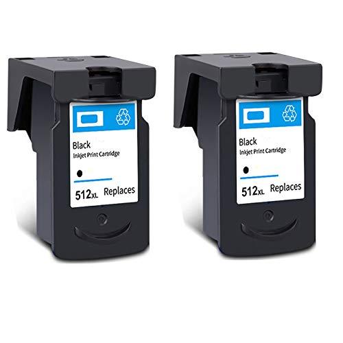 Cartucho de tinta PG-512XL CL-513XL, de alto rendimiento para impresora Canon Pixma MX 320 330 340 410 IP2700 IP2702 MP 230 240 260 272 negro y tricolor 2 negro