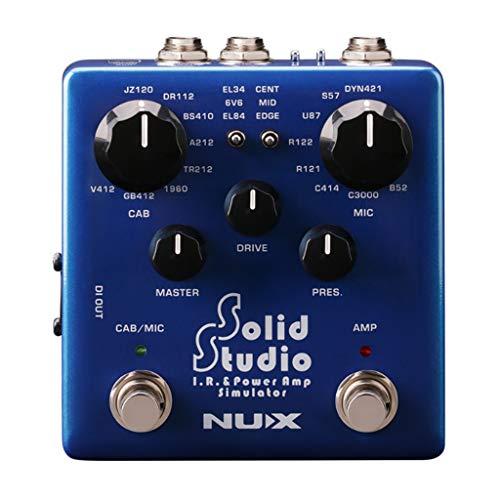 Homyl Solid Studio I.R. Power Amp Simulator Guitar Effect Pedal