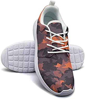 Classic Woodland Fashion Camouflage Ladies Sneakers for Women Spring Breathable and Lightweight Run Shoes
