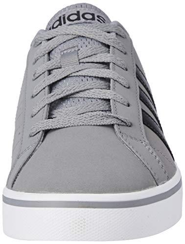 Adidas Vs Pace, Zapatillas Hombre, Gris (Grey/Core Black/Footwear White 0), 42 2/3 EU