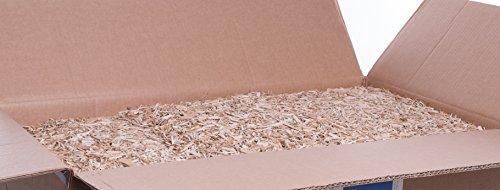 Jumbogras® Kleintier-Einstreu aus Miscanthus/Elefantengras/Chinagras-Häcksel, extrem saugfähige Häckselgut-Streu, günstige Stroh- u. Sägespäne/Holzspäne-Alternative für sauberen Käfig