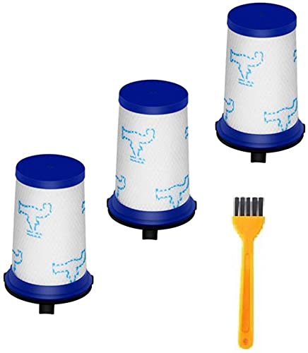 KTZAJO Kit de filtro HEPA para Rowenta Force 360 X-Pert RH9051 RH9057 RH9059 RH9079 RH9081 Partes de aspirador