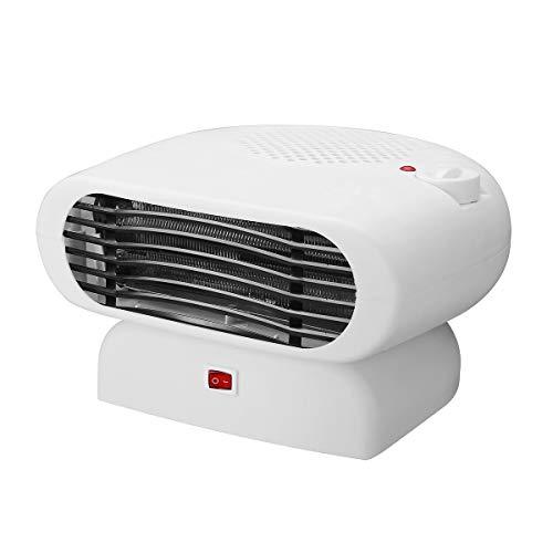 MJJEsports 200-500 W, elektrisch, draagbaar, laag profiel, ventilator voor kantoor, koeling of verwarming