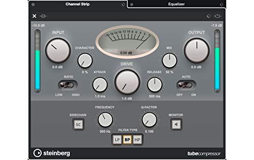 スタインバーグSteinbergDAWソフトウェアCUBASEPRO11通常版CUBASEPRO/R最先端のミックス機能80種類のオーディオエフェクト搭載