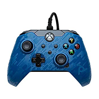 PDP Gaming Wired Controller  Revenant Blue - Xbox Series X|S Xbox One PC - Summer 2021 Model