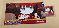 バンドリ Roselia ZEAL of proud タワーレコード特典 四方形40mm缶バッジ+L判ブロマイド(白金燐子ver.) コレクション