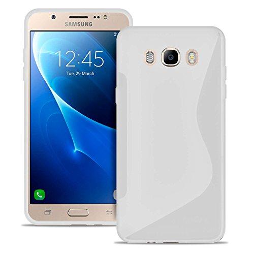 Estuche Ultra Delgado para Samsung Galaxy j7 2016 El | En Blanco | Funda De