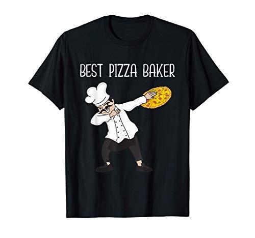 Miglior Pizza Baker Italia Pizza Dough Pizzeria Maglietta