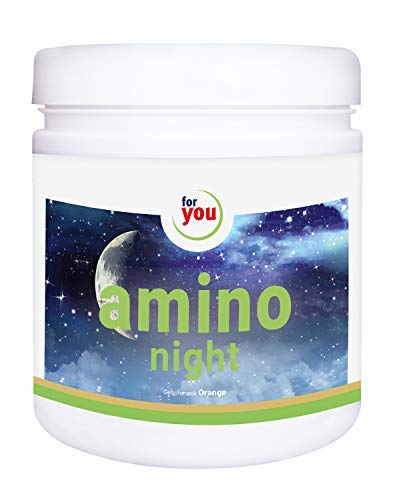 for you amino night I mit GABA Pulver 391g Orange