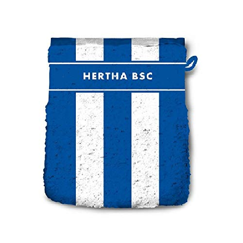 Hertha BSC Berlin Waschhandschuh STREIFEN