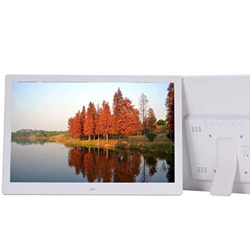 GOHHK Digitaler Bilderrahmen 15-Zoll-Video-Werbemaschine für elektronische Vollformat-Videowerbung an der Wand montierte elektronische Fotoalben unterstützen mehrere Formate Digitale Bilderrahmen