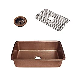 kitchen hardware trends - copper farmhouse sink