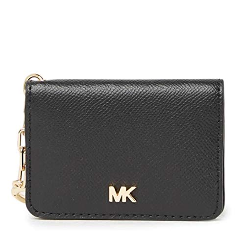 MICHAEL Michael Kors Key Ring Card Holder Black One Size