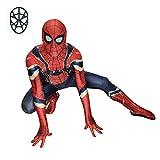 Disfraz De Spiderman De Hierro Medias De Spiderman Niños Adultos Avengers Movie Disfraz De Halloween,Child-XL