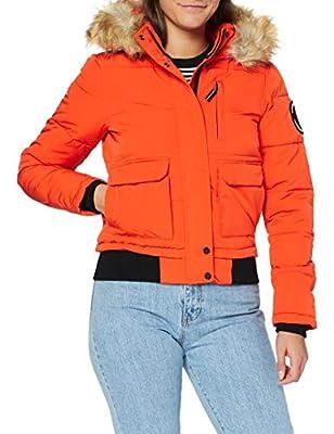 Superdry Everest Bomber Jacket Orange