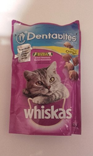 whiskas Dentabites - Complementary Dry Cat Food - Ideal for Healthy Teeth and Gums - 50 g