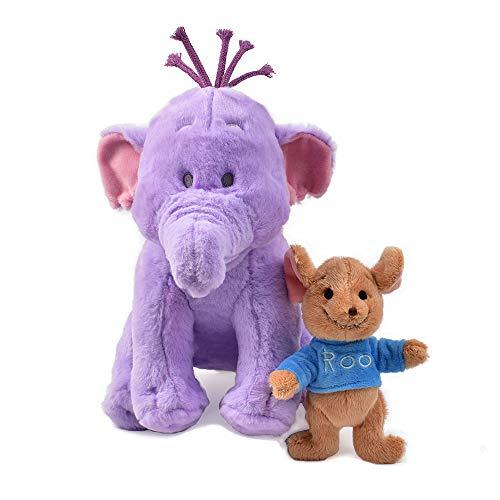 Heffalump Lumpy and Roo Plush Toy - Elephant Kangaroo Stuffed Animal