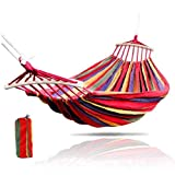 CULER Hamaca Silla Colgante Cuerda Asiento de la Silla Columpio con 2 Cojines para jardín Interior Hamaca Columpios de Moda al Aire Libre