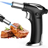 Bearbro Blow Torch, Professional Kitchen Cooking Torch with Safety Lock, and Adjustable Flame