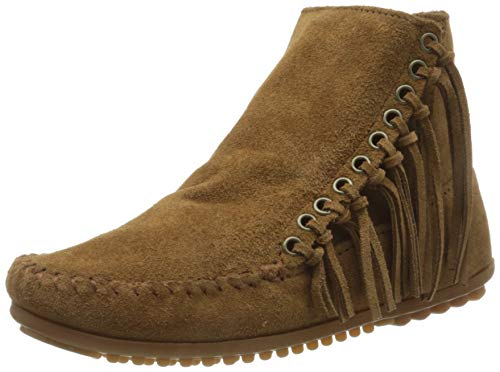 Minnetonka Damen WILLOWBOOT Mokassin Stiefel, Braun (DUSTYBROWN), 41 EU