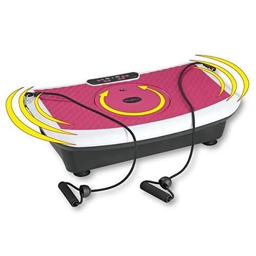 VITALmaxx WAYFLEX Vibrationstrainer Vibrationsplatte Fitness Power Vibro Ganzkörper Trainingsgerät.