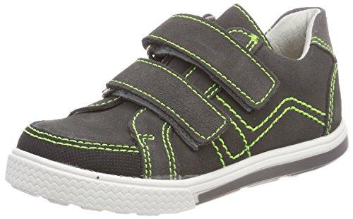 Däumling Jungen Motsch Sneaker, Grau (Turino Asphalt), 27 EU