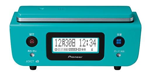 パイオニア デジタルコードレス電話機 親機のみ 迷惑電話対策・留守番・ナンバーディスプレイ機能搭載 ターコイズブルー TF-FD31S-A
