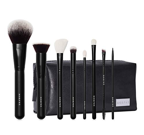 Morphe Get Things Started Makeup Brush Collection with Bag
