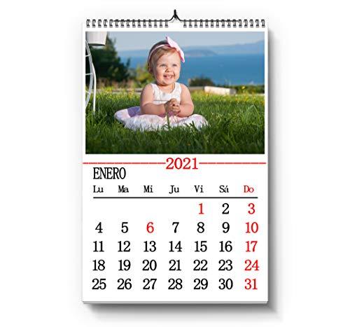 Calendarios de pared personalizados con fotos (Premium) (20x30cm)