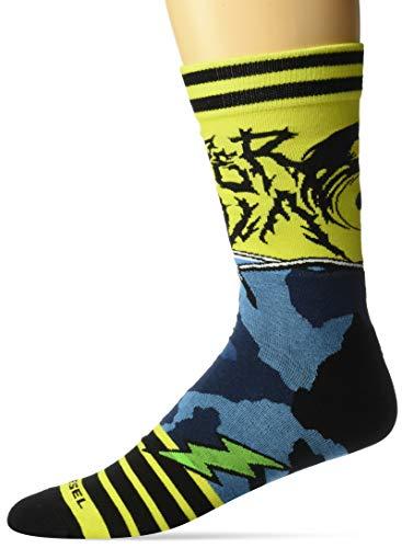 Diesel Herren RAY Legere Socken, grün, Small