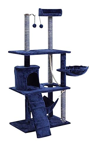 HLZY Cat Tower Popular Cat Toy Cat Trees and Towers Cat Castle Toys, Play Towers Cat Tree Pet Toy Small Cat Litter Sisal Cat Scratch Board Cat Frame Villa Pet Furniture