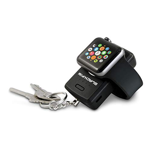 Black Fin Keychain Power Bank for Apple Watch