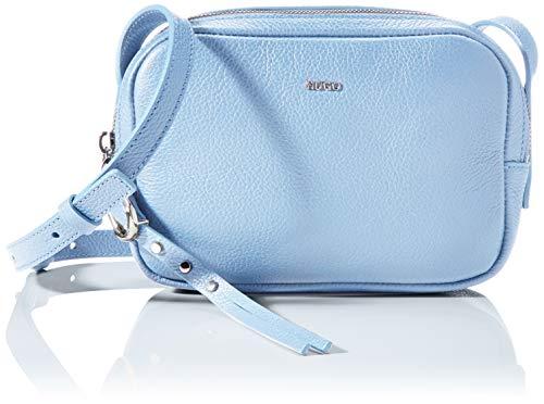 HUGO Kim Crossbody, Bolso Cruzado para Mujer, Light/Pastel Blue451, Einheitsgröße