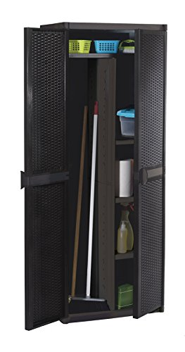 Schrank aus Polyrattan 4B C/ESC, 65 x 45 x 172 cm