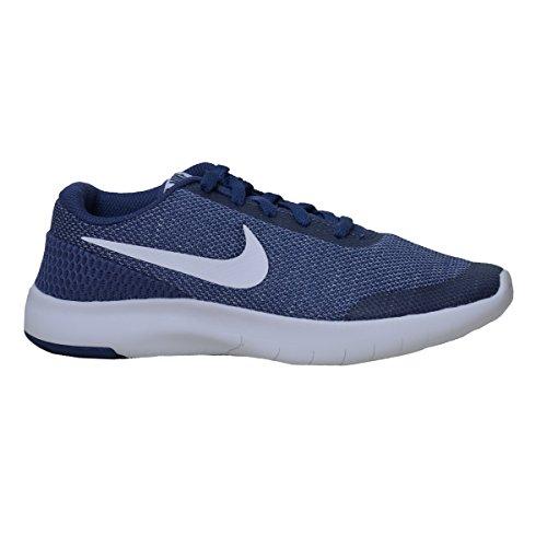 Nike Unisex-Kinder Flex Experience Run 7 Laufschuhe, Blau (blau/weiß blau/weiß), 38 EU