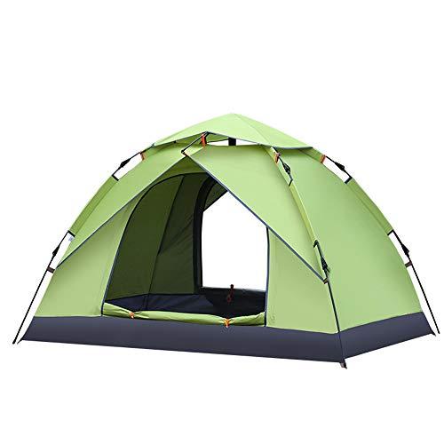 Outdoor Pop Up Tent Lightweight Waterproof Double-Layer Camping Wild Speed Open Tent Suitable For Trekking Beach Fishing,Portable Carrying Bag
