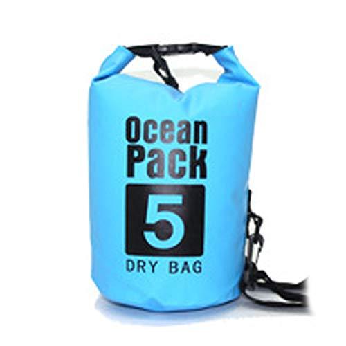Festnight Bolsa de flotadores de Agua Bolsa Impermeable al Aire Libre Bolsa de Flotador de natación Bolsa de Almacenamiento de natación Roll Tops Saco