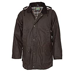 Robust wind and waterproof rain jacket