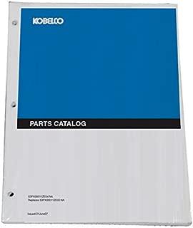Kobelco ED150-2 Blade Runner Dozer Excavator Parts Catalog Manual - Part Number S3LH00002ZE01