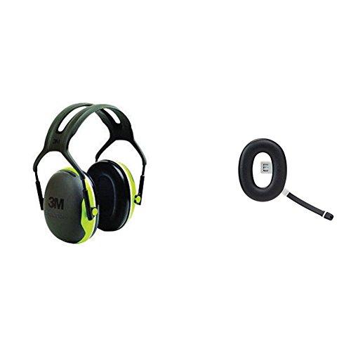 3M Peltor Kapselgehörschutz X4A mit 3M Peltor Ohrenschützer Zubehörteil