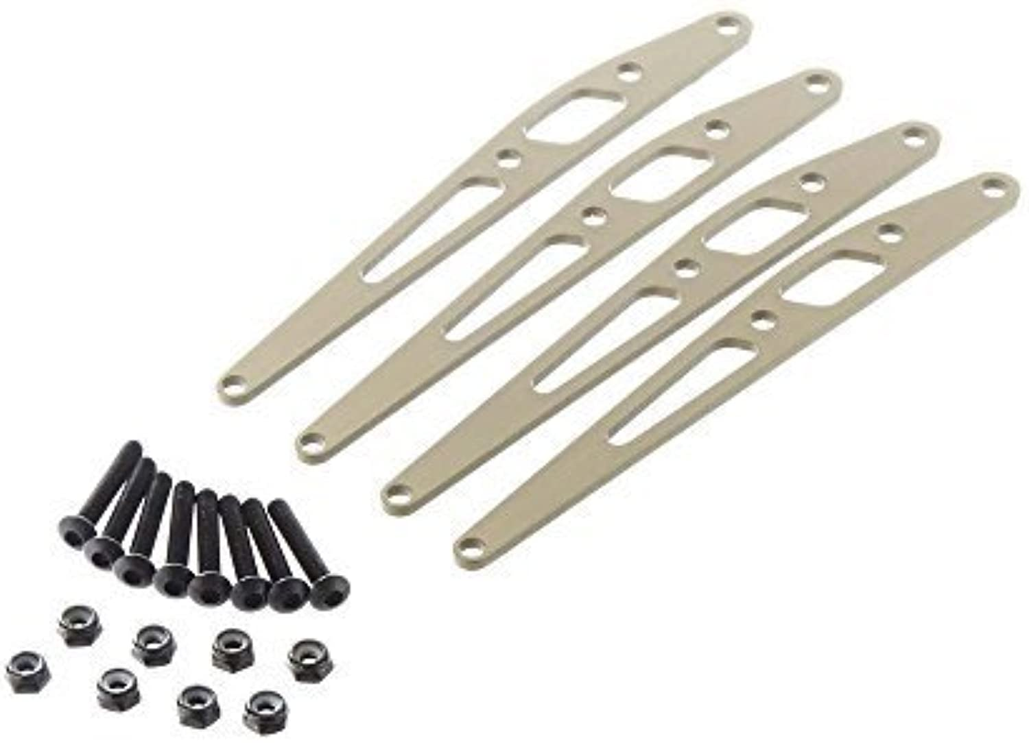 AXIAL AX31245 Lower Link Plate Set Aluminum (4) by AXIAL
